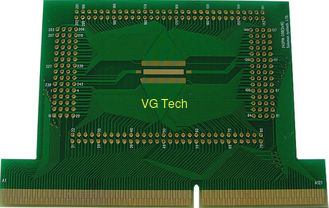 double sided 3u'' gold finger pcb from China