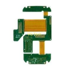 4 layer Rigid-flex PCB with Stiffener, FR4 and PI Material from China