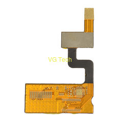 multi layer flexible circuit board with FR4 and steel stiffener from China