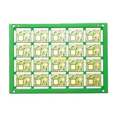 4 Layer half hole PCB used for wireless equipment