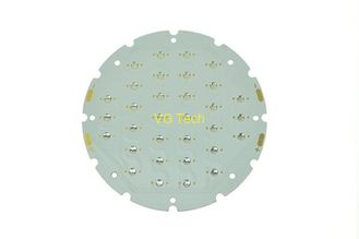 China stepped hole aluminum pcb factory