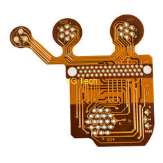 flexible circuit board 2 layer PI stiffener flexible pcb prototype mass production flex circuit fabrication